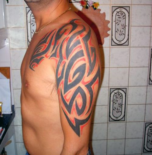 Męski Tribal Na Ramie Image 2322206 By Tattooamazing On