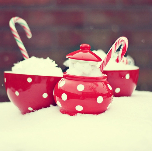 beautiful, christmas, food, red, snow