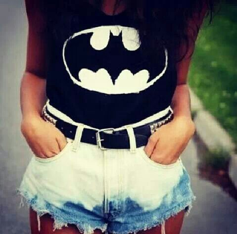 batman, clothing, shirt, shorts