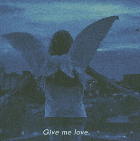 angel, girl, grunge and love