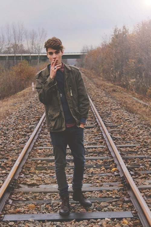 blonde, boy, friendly, guy, hair, hipster, hot, indie, lfe, life, love, man, moment, over, smoke, syle, train, yes