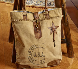 American Gal Tote Viva Home Decor Image 2636696 By