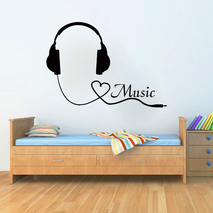 decor music sticker wall decal murals wall decals decals wall