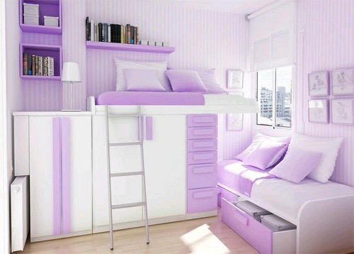 bedroom, cute, girly, purple, rooms, tumblr, tumblr rooms, bedroom goal
