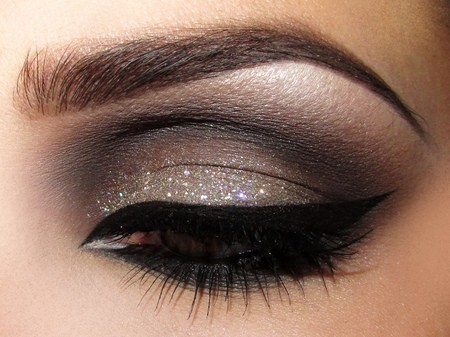 beauty, brown, eye and eye liner