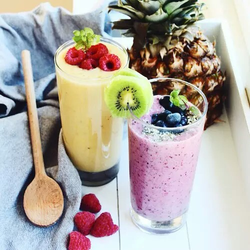 yellow fruit delicious healthy fruit smoothies