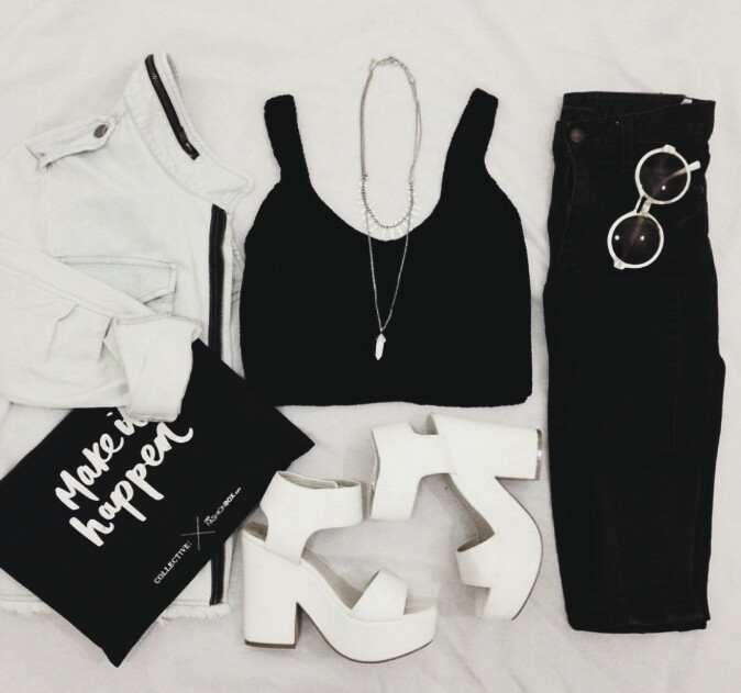 biker, black and white, casual, chic, crochet, crop, cropped, dress up, fashion, jacket, jeans, lookbook, moto, outfit, outfits, street, style, stylish, top, wear, ootdshare, ootdinspiration, ootdstyle, ootdpost, ootd