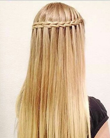 Waterfall Braid Image 3041646 By Loren On Favim Com