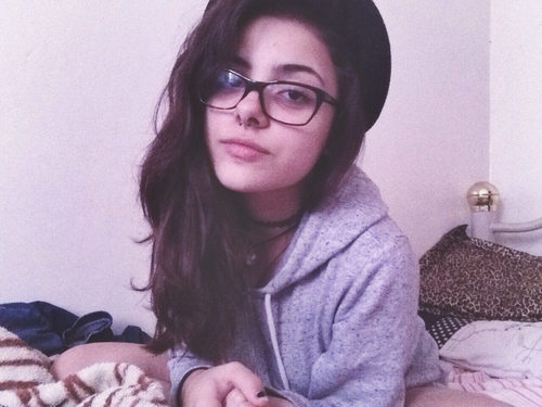 girl, oculos, piercing and tumblr