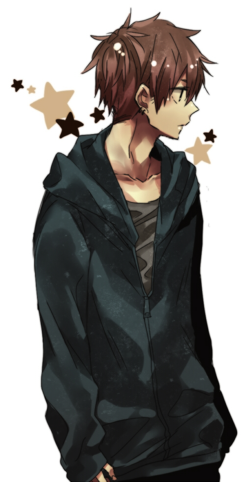 Anime Guy With Black Hair And Brown Eyes Untitled - image #3202...
