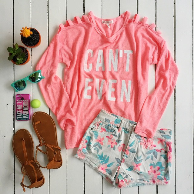 casual, pink, summer and casual clothes