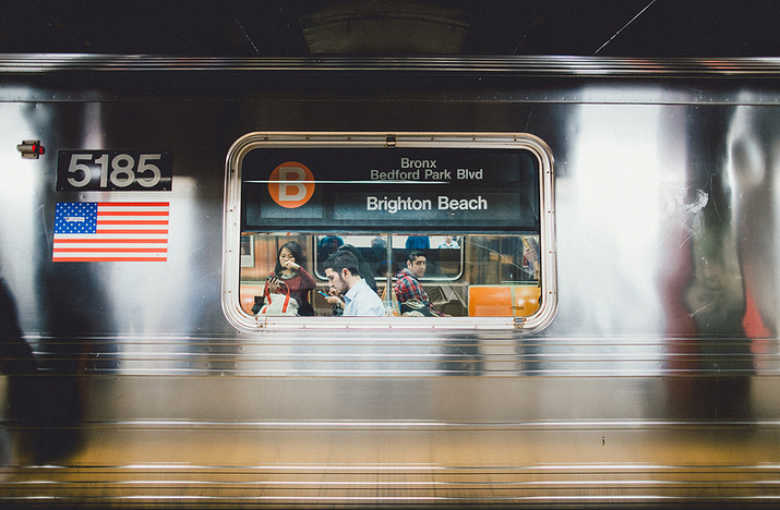 adventure, america, background, brighton beach, cute, flag, indie, life, new york, paradise, people, photography, subway, train, united states, usa, vintage, young, danny guardia, american subway