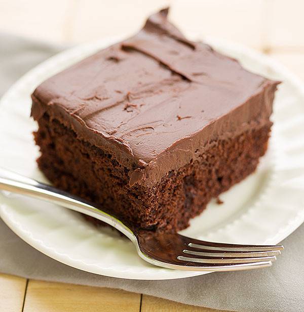 Chocolate Cake with Whipped Mocha Ganache Frosting - Food Recipes ...