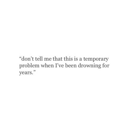 Quotes About Drowning In Depression: Image #3324806 By Taraa On Favim.com