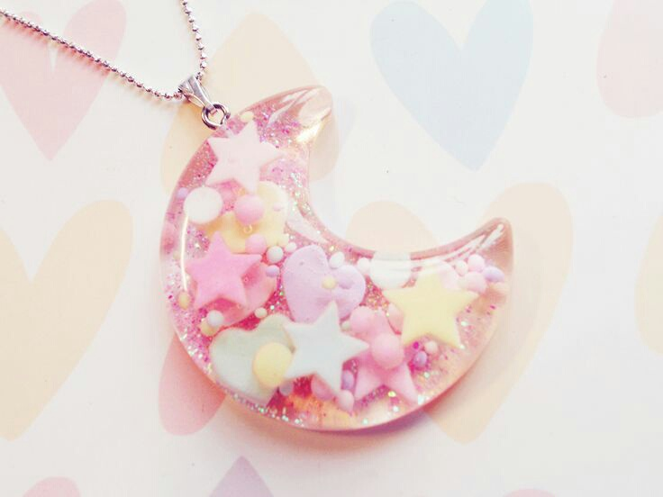 cute, fashion, jewelry and moon