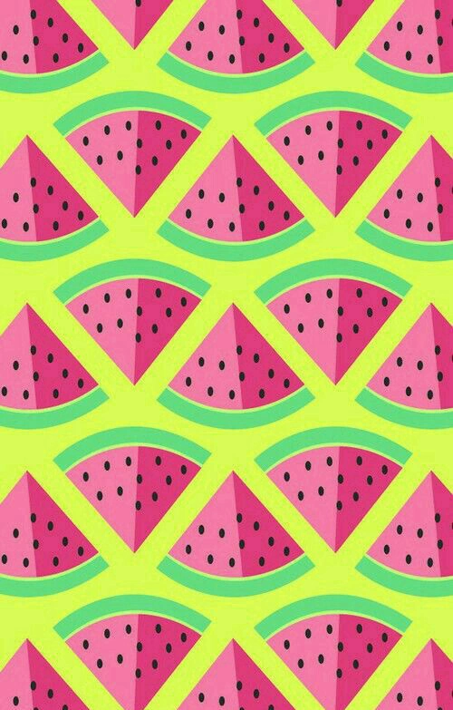 Background Cute Green Light Green Pink Red Theme