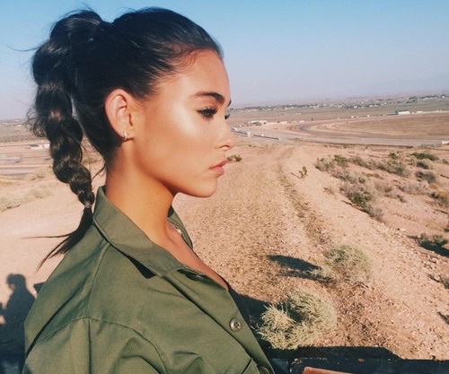 beauty, black hair, celebrity and goals