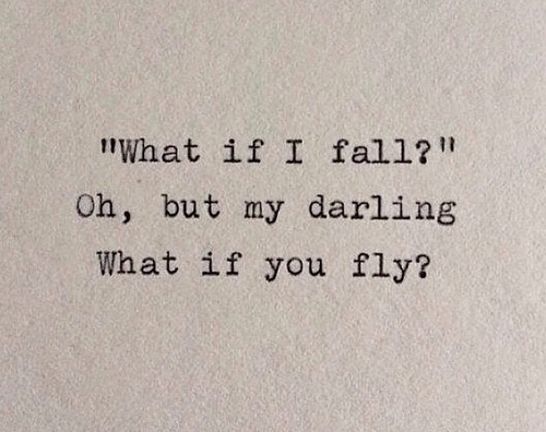 darling, dream, drem, fall, flying, imagination, inspiration, quote, quotes, wings