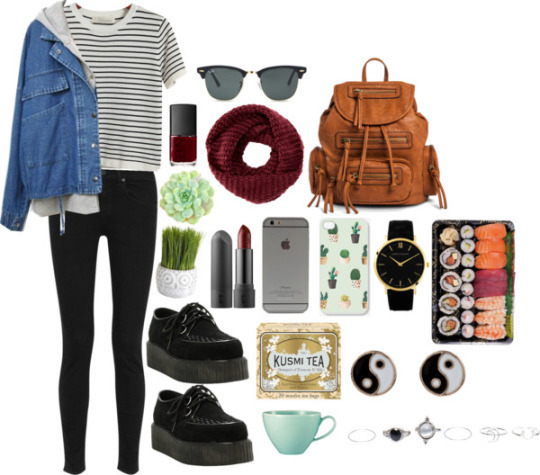 Hipster Girl Outfits Polyvore autumn outfit -...