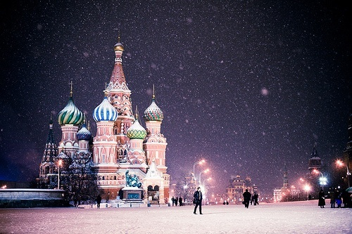 cold, magical, russia and snow