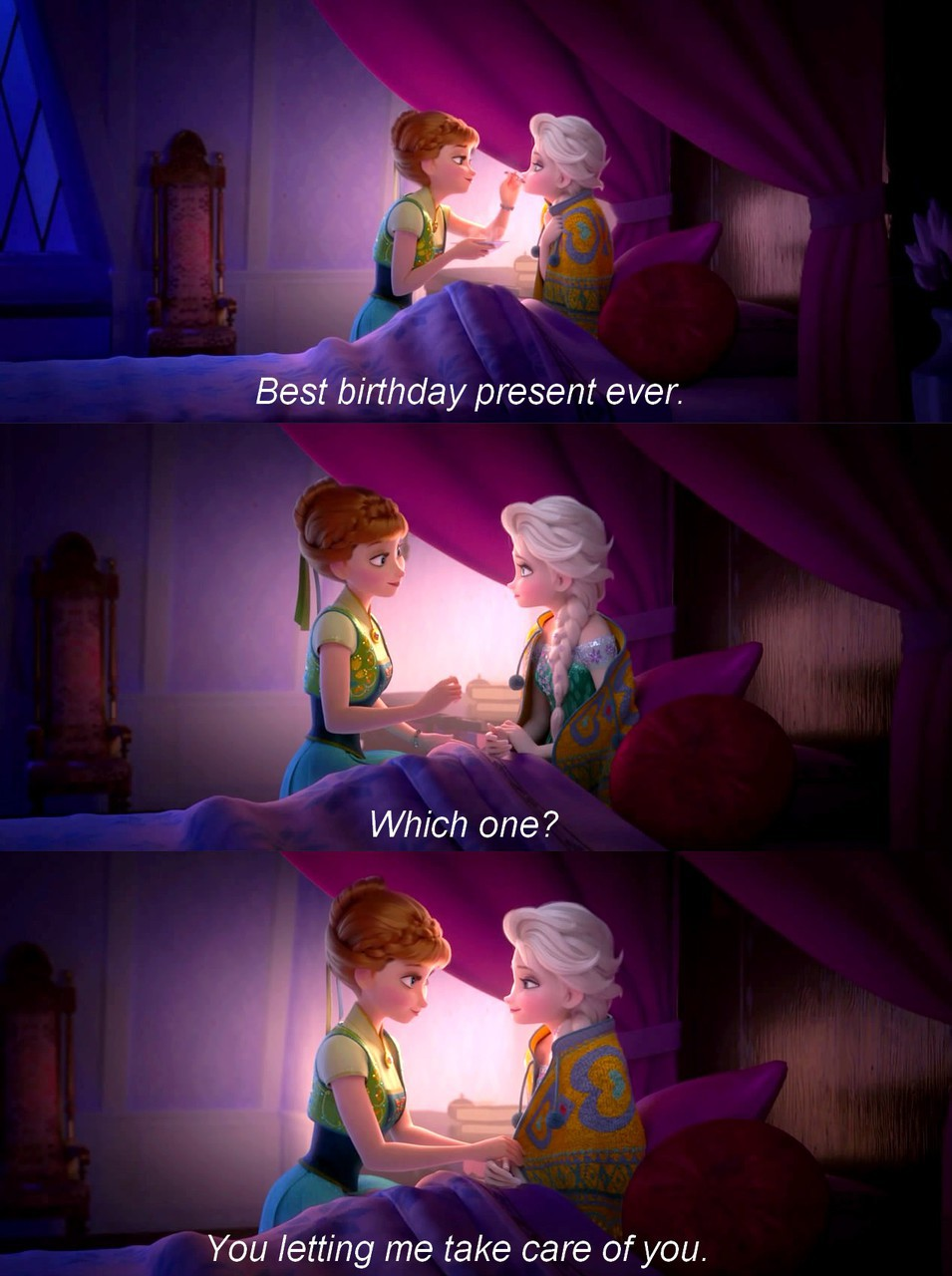 anna, birthday, disney and elsa