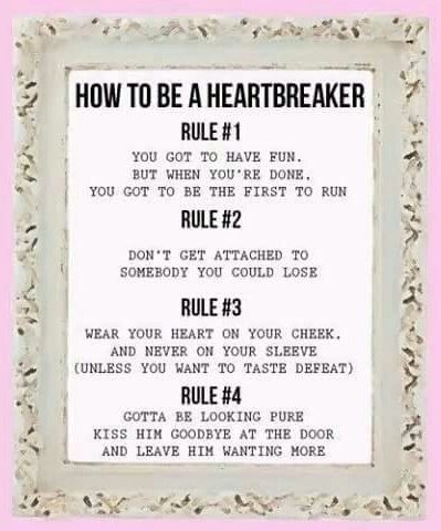 how to be a heartbreaker lyrics Quotes