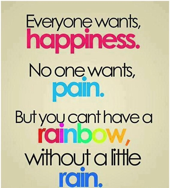 Pain And Life Quotes: Happiness, Life, Pain, Quote, Rain