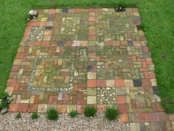 Recycled attractive brick patio recycled things image 3761666 by recycledthings on - Reclaimed brick design ideas ...
