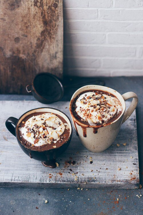 autumn, coffee, cozy, fall, photography - image #3765206 ...