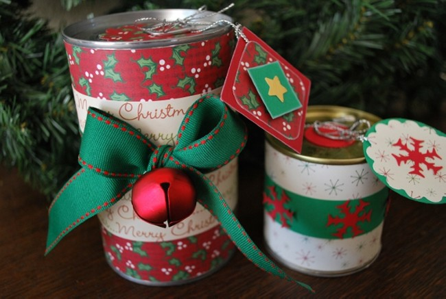 Christmas Crafts With Tin Cans