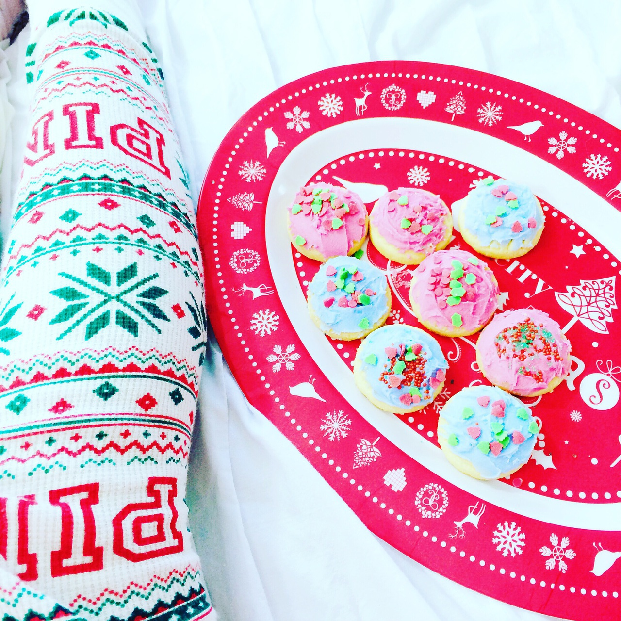 beauty, christmas, cookies and cute