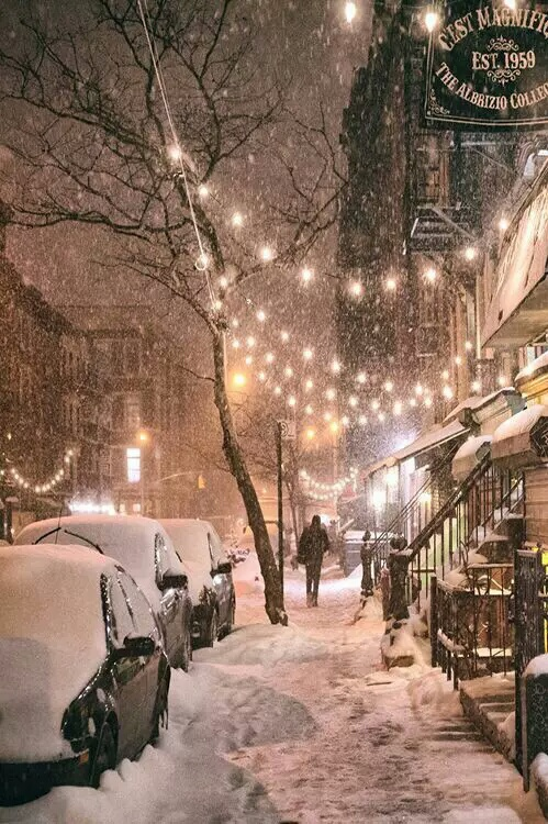 christmas, merry christmas, new york and snow