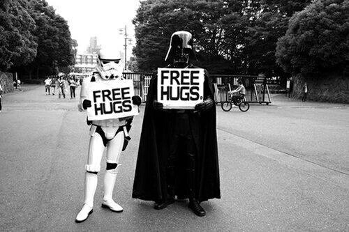 black, free, hug, photo, star wars, tumblr, we heart it