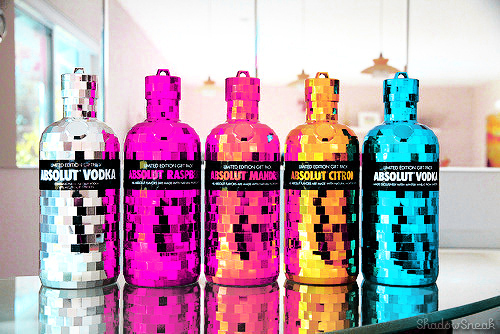 absolut, absolut vodka, alcohol, art, awesome, colours, drink, drunk, fashion, glitter, inspirational, party, photo, photography, sparkles, style, summer, yeah