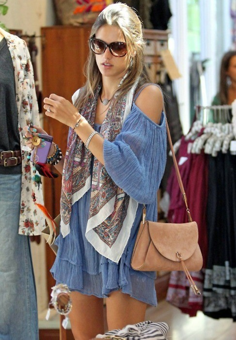 alessandra ambrosio, bag, blonde, cute