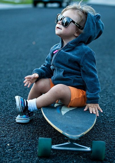 Think, that cute girl on skateboard bad