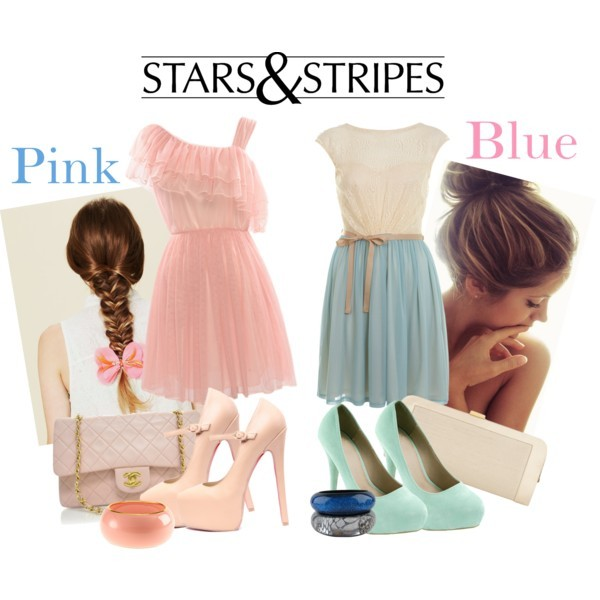 blue, clothing, fashion, friends, girls, pink