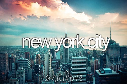 I Love You New York Quotes : Pics Photos - New York City Quotes