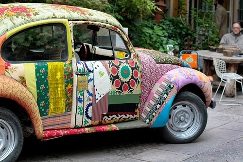 car, color, colorful, dream, flowers, fun, funny, happiness, hippy, hipster, love, peace, road, summer, super, van
