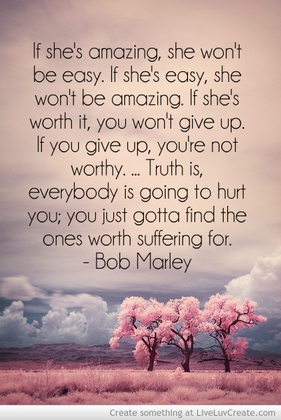 bob marley  cute  inspirational  love  pretty  quote  quotesQuotes About Relationships Problems