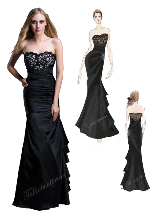 Black Prom Dresses Tumblr