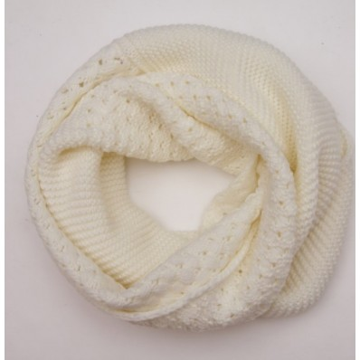 cable knit shell pattern snood scarf USD1039 - image #571578 on Favim.com