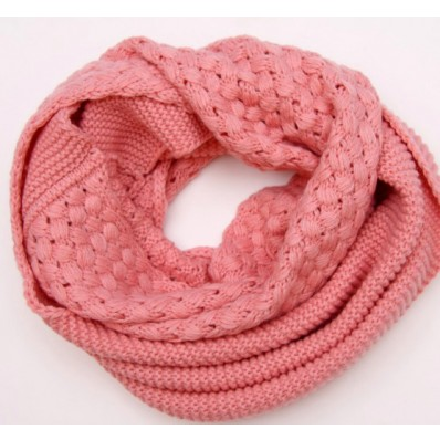 cable knit shell pattern snood scarf USD1039 - image #571582 on Favim.com