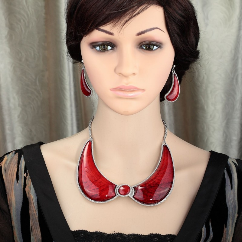 bib collar necklace set, collar jewelry sets, collar necklace earrings set and collar necklace jewelry set