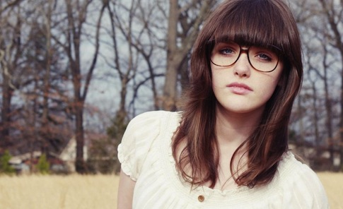 beautiful, cute, deep, glasses, hipster