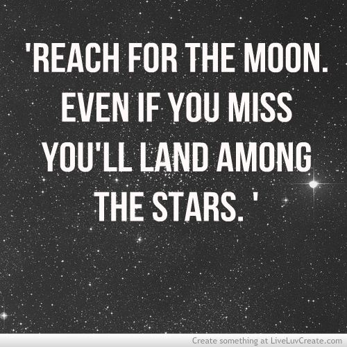 Inspirational Quotes On Pinterest: Moon Stars Quotes Inspiration. QuotesGram