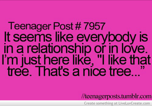 cute, funny, i like that tree, life, love, pretty, quote, quotes