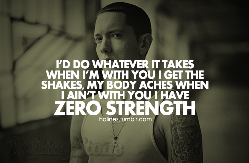 love quotes from eminem quotesgram