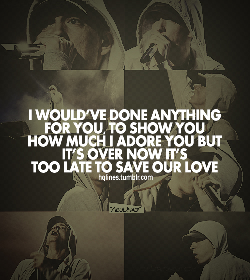 Eminem Quotes And Sayings. QuotesGram