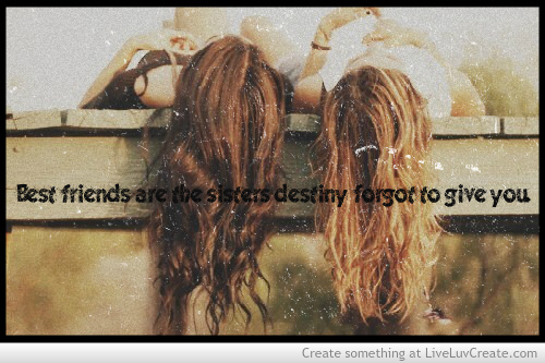 Cute Freindship Creation Friendship Sisters Girls Truequotes Love
